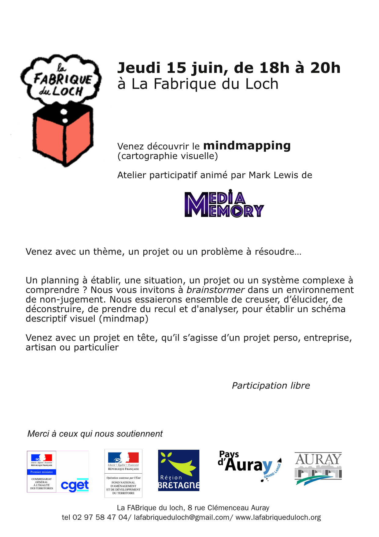 VendrediMoitout/mindmapping/la Fabrique du Loch
